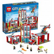 Пожарная часть (аналог лего 60110), 02052 Lepin
