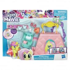 """Игровой набор """"Возьми с собой"""" пони Флаттершай My Little Pony, e0187 Hasbro"""