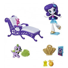 Игровой набор My Little Pony Rarity Relaxing Beach Lounge Set, b4910 Hasbro