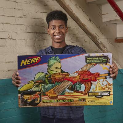 Бластер Nerf Думлэндс Double Dealer, b5367 Hasbro