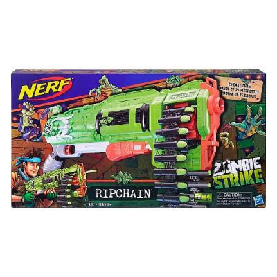 "Бластер Nerf Zombi Strike ""Цепевик"", e2146 Hasbro"