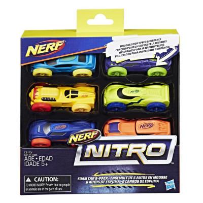 Nerf Nitro 6 автомобилей, c3173 Hasbro