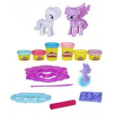 Игровой набор Твайлайт Спаркл и Рарити Play-Doh, b9717 Hasbro