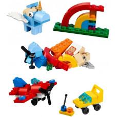 Веселая радуга 10401 Lego Building Bigger Thinking
