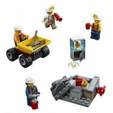 Бригада шахтёров 60184 Lego City