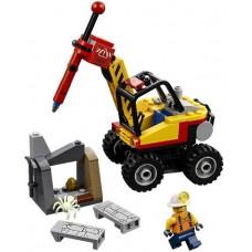 Трактор для горных работ 60185 Lego City