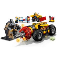 Тяжёлый бур для горных работ 60186 Lego City