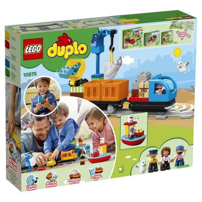 Грузовой поезд 10875 Lego Duplo
