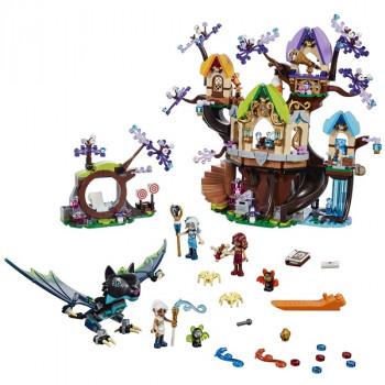 Нападение летучих мышей на Дерево эльфийских звёзд 41196 Lego Elves