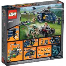 Погоня за Блю на вертолёте 75928 Lego Jurassic World