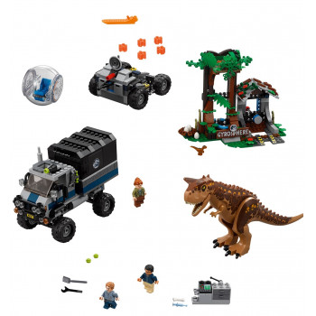 Побег в гиросфере от Карнотавра 75929 Lego Jurassic World