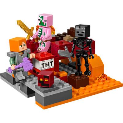 Бой в Нижнем мире 21139 Lego Minecraft
