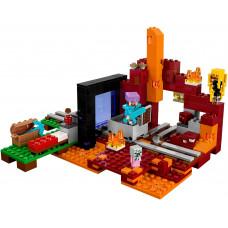 Портал в Нижний мир 21143 Lego Minecraft