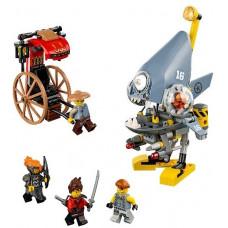 Нападение пираньи, 70629 Lego Ninjago Movie