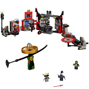 Штаб-квартира Сынов Гармадона 70640 Lego Ninjago