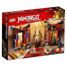 Решающий бой в тронном зале 70651 Lego Ninjago