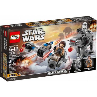 Бой пехотинцев Первого Ордена против спидера на лыжах 75195 Lego Star Wars