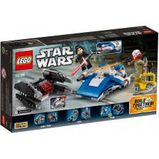 Истребитель A-Wing против истребителя TIE Кайло Рена 75196 Lego Star Wars