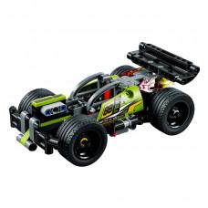 Зелёный гоночный автомобиль 42072 Lego Technic