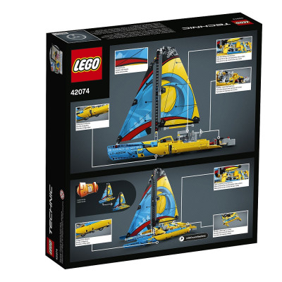 Гоночная яхта, 42074 Lego Technic