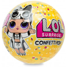 Кукла-сюрприз LOL в шаре Confetti Pop (2 волна), MGA Entertainment