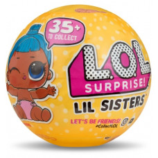 Кукла-сюрприз Lil Sisters LOL в шаре (3 серия, 2 волна) MGA Entertainment