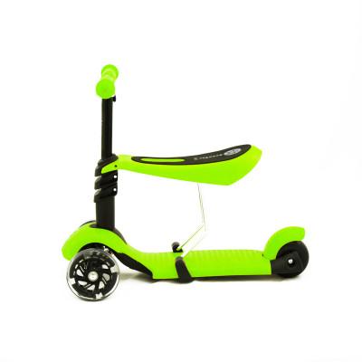 Самокат-беговел Scooter с сиденьем 3 в 1 (зеленый)