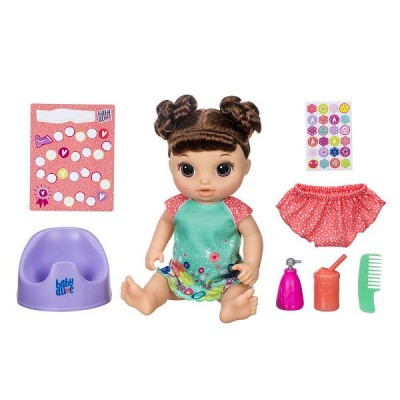 Кукла Hasbro Baby Alive E0610 Танцующая Малышка Шатенка