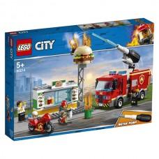 60214 Lego City Пожар в бургер-кафе