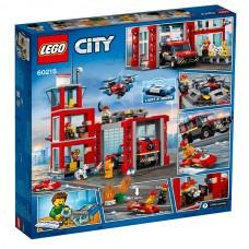 60215 LEGO City Пожарное депо