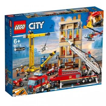60216 LEGO City Центральная пожарная станция
