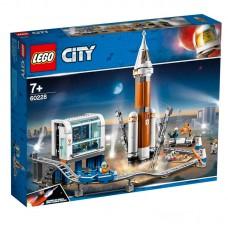 60228 Lego City Ракета для запуска в далекий космос и пульт управления запуском