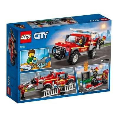 60231 Lego City Грузовик начальника пожарной охраны