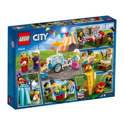 60234 Lego City Комплект минифигурок Весёлая ярмарка