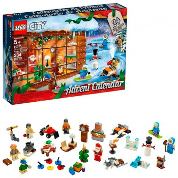 60235 Lego City Новогодний календарь Лего Сити 2019