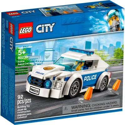 60239 LEGO City Автомобиль полицейского патруля