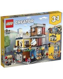 31097 Lego Creator Зоомагазин и кафе в центре города