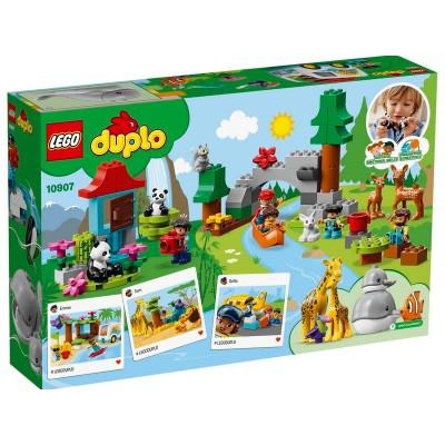 10907 LEGO DUPLO Town Животные мира
