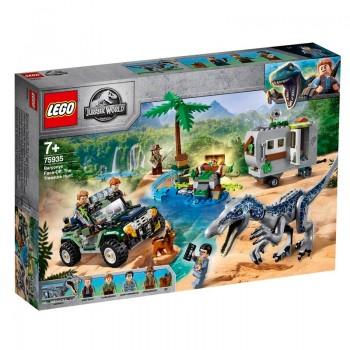 75935 Lego Jurassic World Поединок с бариониксом: охота за сокровищами