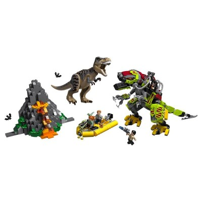 75938 Lego Jurassic World Бой тираннозавра и робота-динозавра