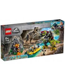 75938 Lego Jurassic World Бой тираннозавра и робота-динозавра