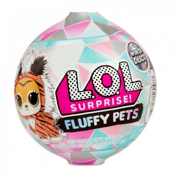 Lol Питомец Fluffy Pets  (6 серия - Winter Disco), L.O.L SURPRISE MGA