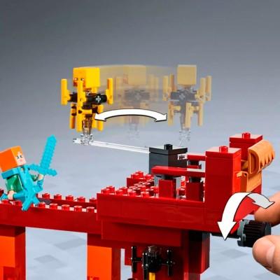 LEGO Minecraft 21154 Конструктор ЛЕГО Майнкрафт Мост ифрита