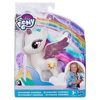 Фигурка My Little Pony Принцесса Селестия с разноцветными волосами, e5892-e5964 Hasbro