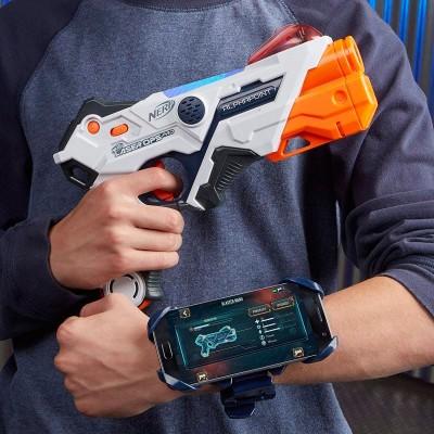 Набор из 2 лазерных бластеров Nerf Laser Ops Pro Alphapoint, E2281 Hasbro