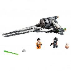 75242 Lego Star Wars Конструктор ЛЕГО Звездные Войны СИД Перехватчик Чёрный АС