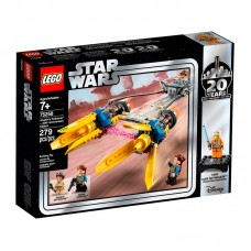 75258 Lego Star Wars Конструктор ЛЕГО Звездные Войны Гоночная капсула Энакина выпуск к 20-му юбилею