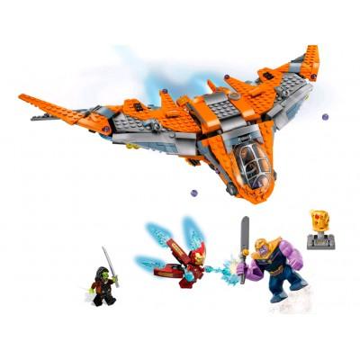 76107 LEGO Super Heroes Танос последняя битва