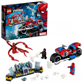 76113 LEGO Super Heroes Человек-паук: Спасательная операция на мотоцикле