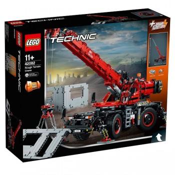 42082 LEGO Technic Подъёмный кран для пересечённой местности